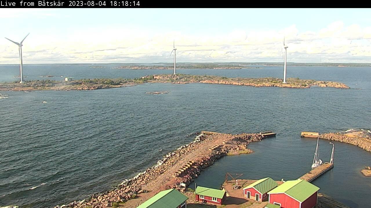 Webcam Östergård: Båtskären
