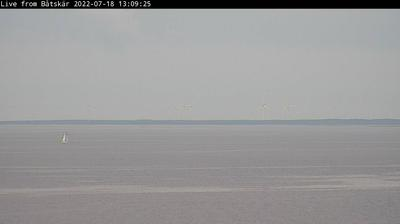 Daylight webcam view from Östergård: Båtskären