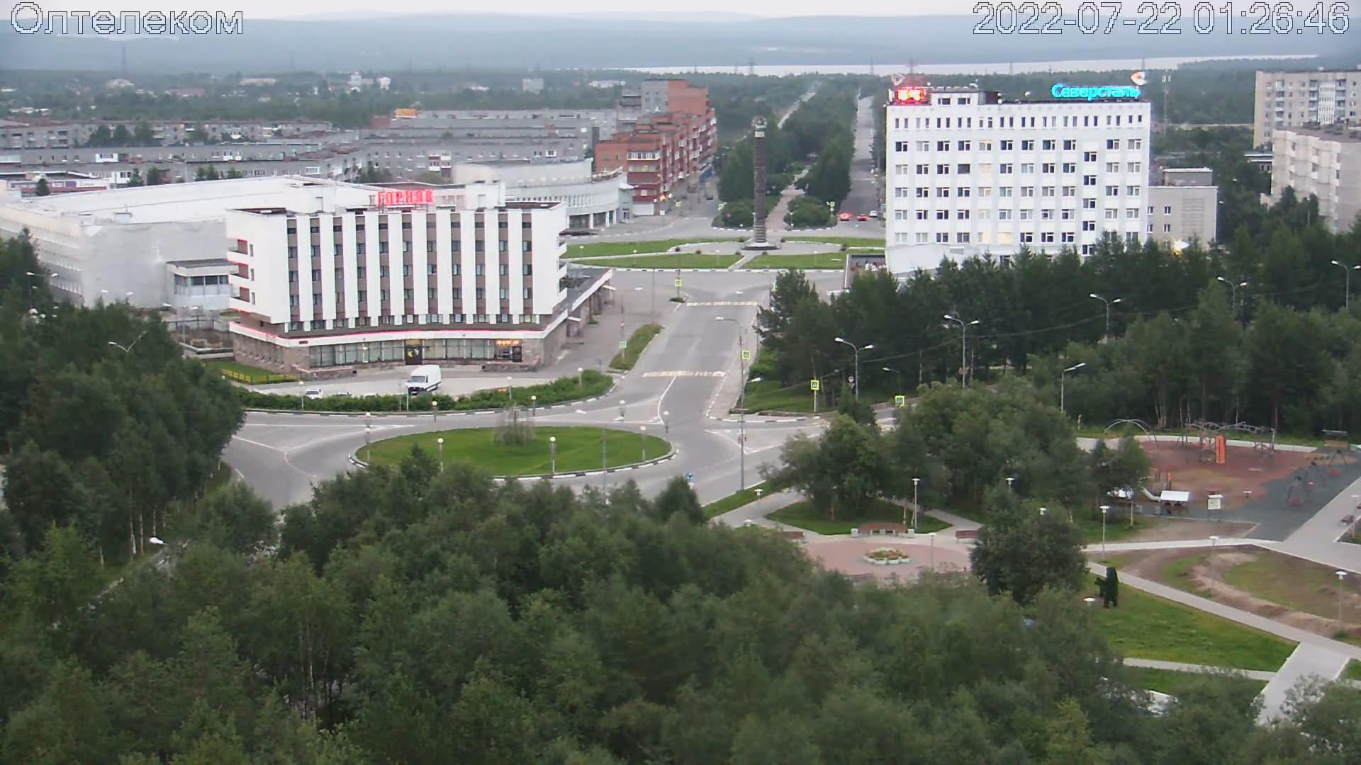 Webcam Olenegorsk: Обзорная