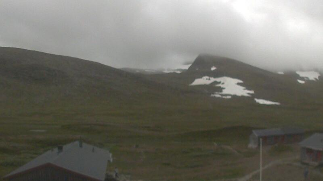Webcam Kesudalen › West: STF Helags fjällstation