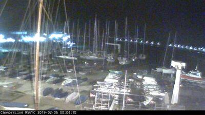 Webcam Dún Laoghaire › East: Royal St. George Yacht Club