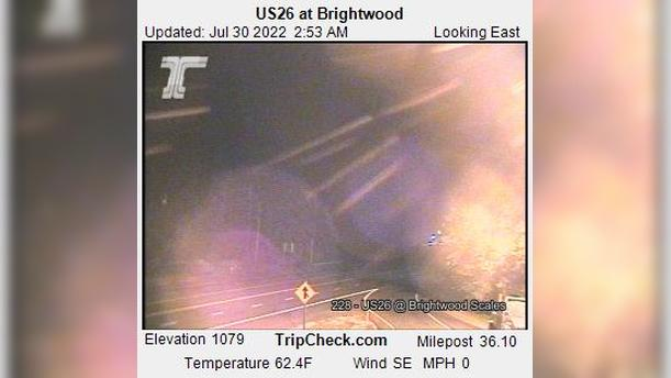 Webcam Brightwood: US26 at