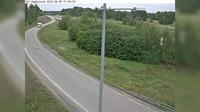 Hagby: Trafikplats Hagbylund (Kameran �r placerad p� v�g  Norrortsleden vid trafikplats Hagbylund, i h�jd med v�stg�ende avfart och �r riktad mot Rosenk�lla/E) - Overdag