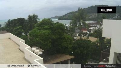 Vista de cámara web de luz diurna desde Ban Patong: Patong Lodge Hotel