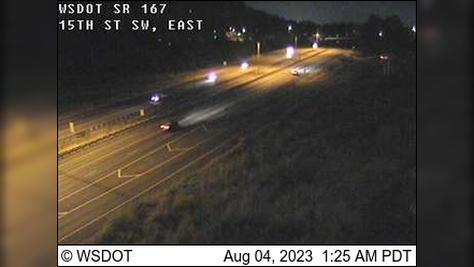 Webcam Algona: SR 167: 15th St SW, East