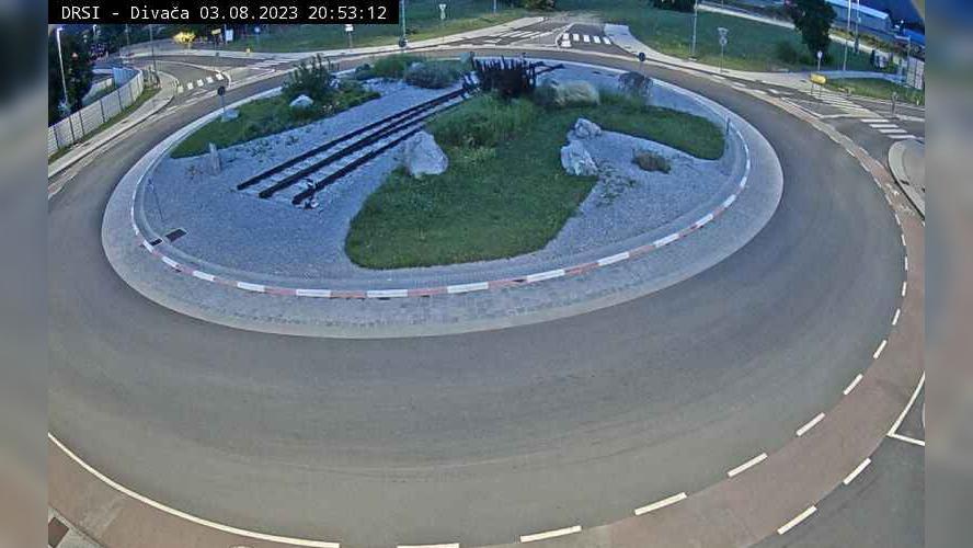 Webcam Divača: R1-205, Rondo