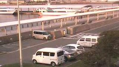 Webkamera 似島町: 広島市) − harbour