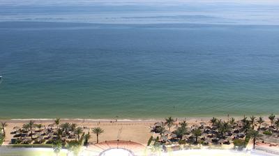 Vista de cámara web de luz diurna desde Al Aqah: Le Meridien