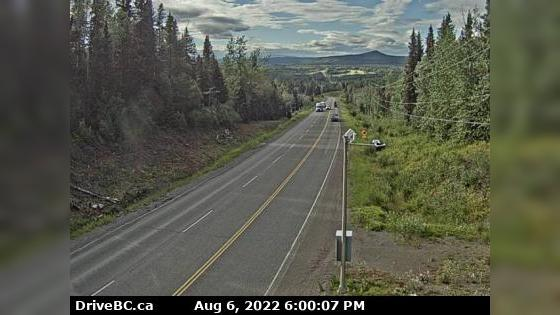 Webcam Topley › West: On Hwy 16, 40 km west of Burns Lake