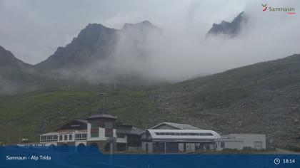Compatsch: Samnaun - Alp Trida, Restaurant Alp Trida