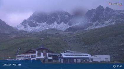 Samnaun-Compatsch: Samnaun - Alp Trida, Restaurant Alp Trida