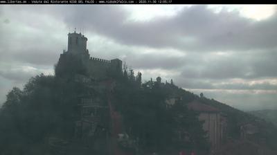 Vue webcam de jour à partir de City of San Marino: Città di Torre Guaita