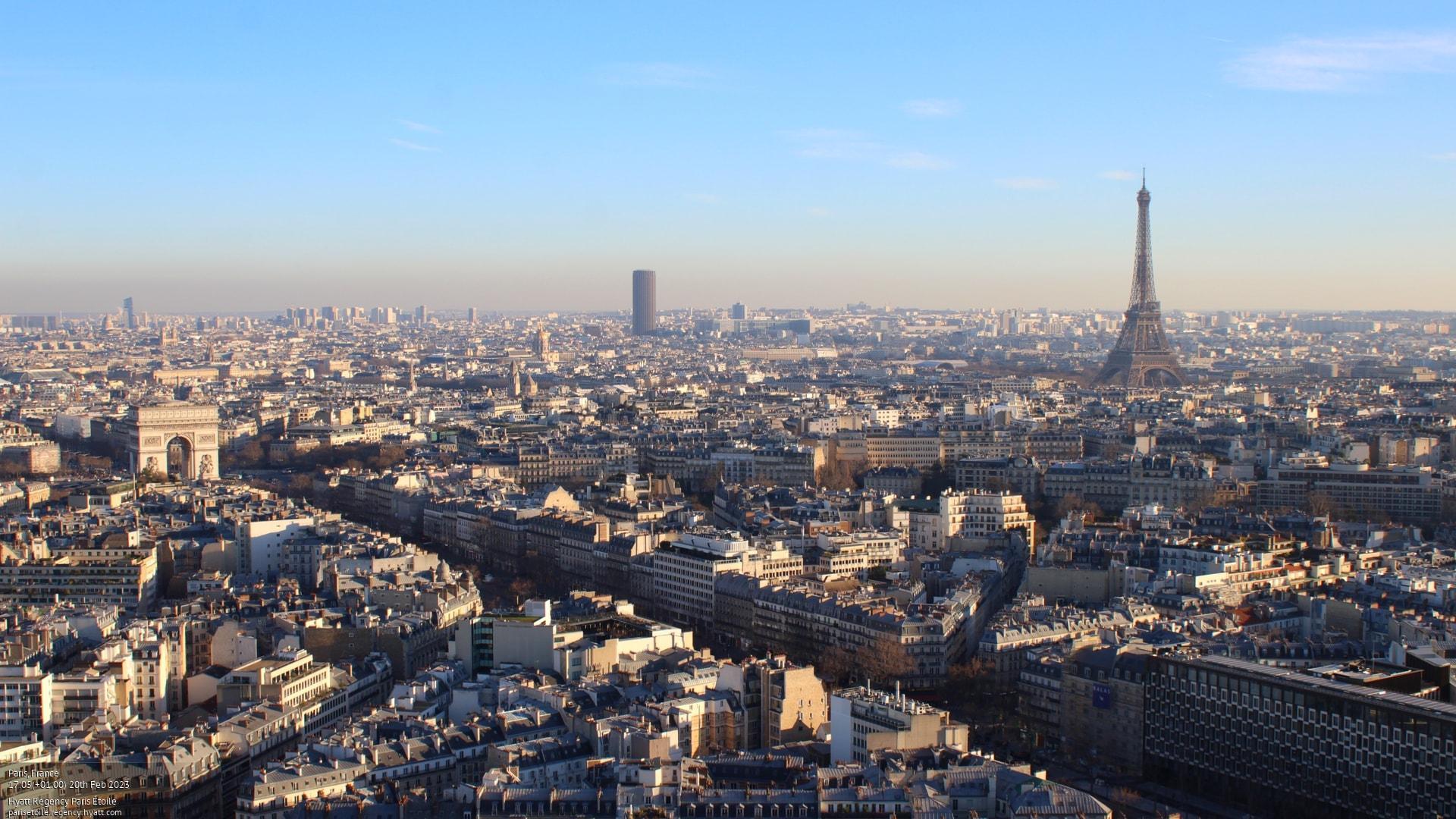 Webkamera Paříž
