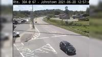 City of Johnstown › North: Route A at Route - Johnstown - Day time