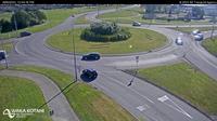 Napier > North: SH/SH/SH Taradale Rd Roundabout, Hawkes Bay - Day time