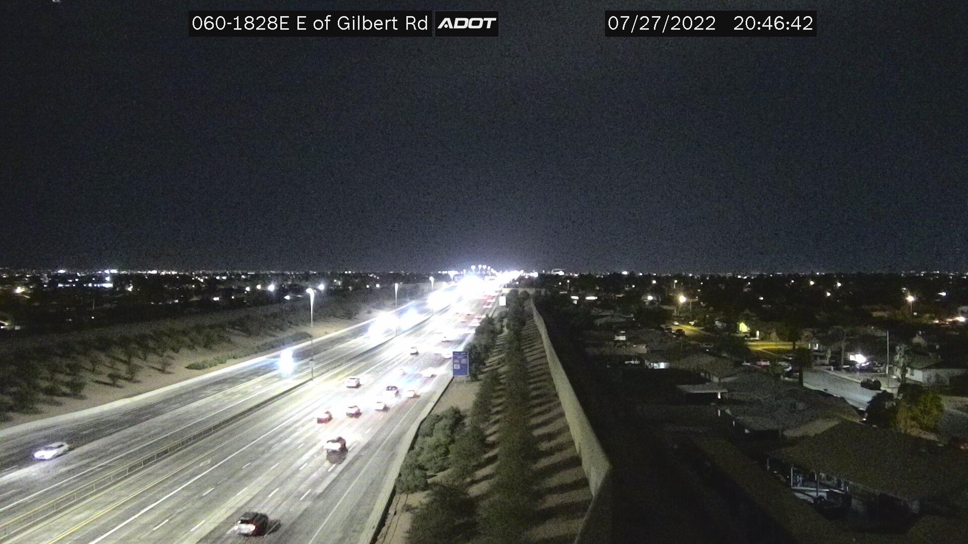 Webcam Knoell Mesa: US 60 East Of Gilbert