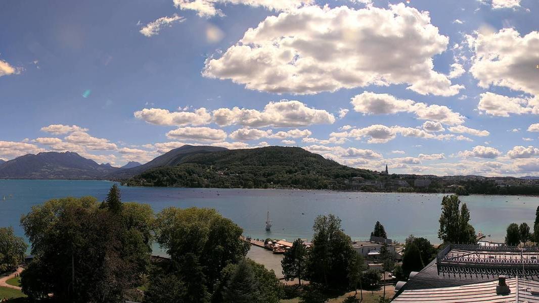 Annecy - vue vers le lac