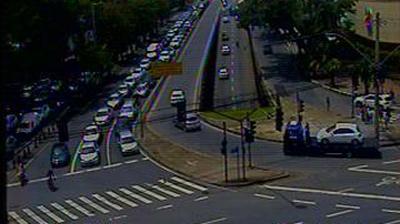Tageslicht webcam ansicht von Belo Horizonte: Trânsito: Av. Contorno x Av. N. Sra. do Carmo