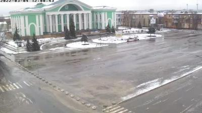 Vue webcam de jour à partir de Syeverodonets'k: Площадь Ленина