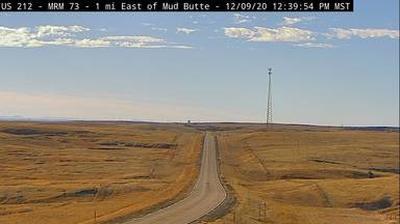 Webkamera Mud Butte: US-212 near − SD (MM 74)