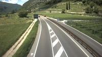 Mori: SS Km + - Ovest vista direzione Riva d/G - Dagtid
