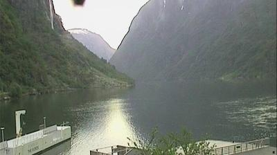 Current or last view from Gudvangen › North East