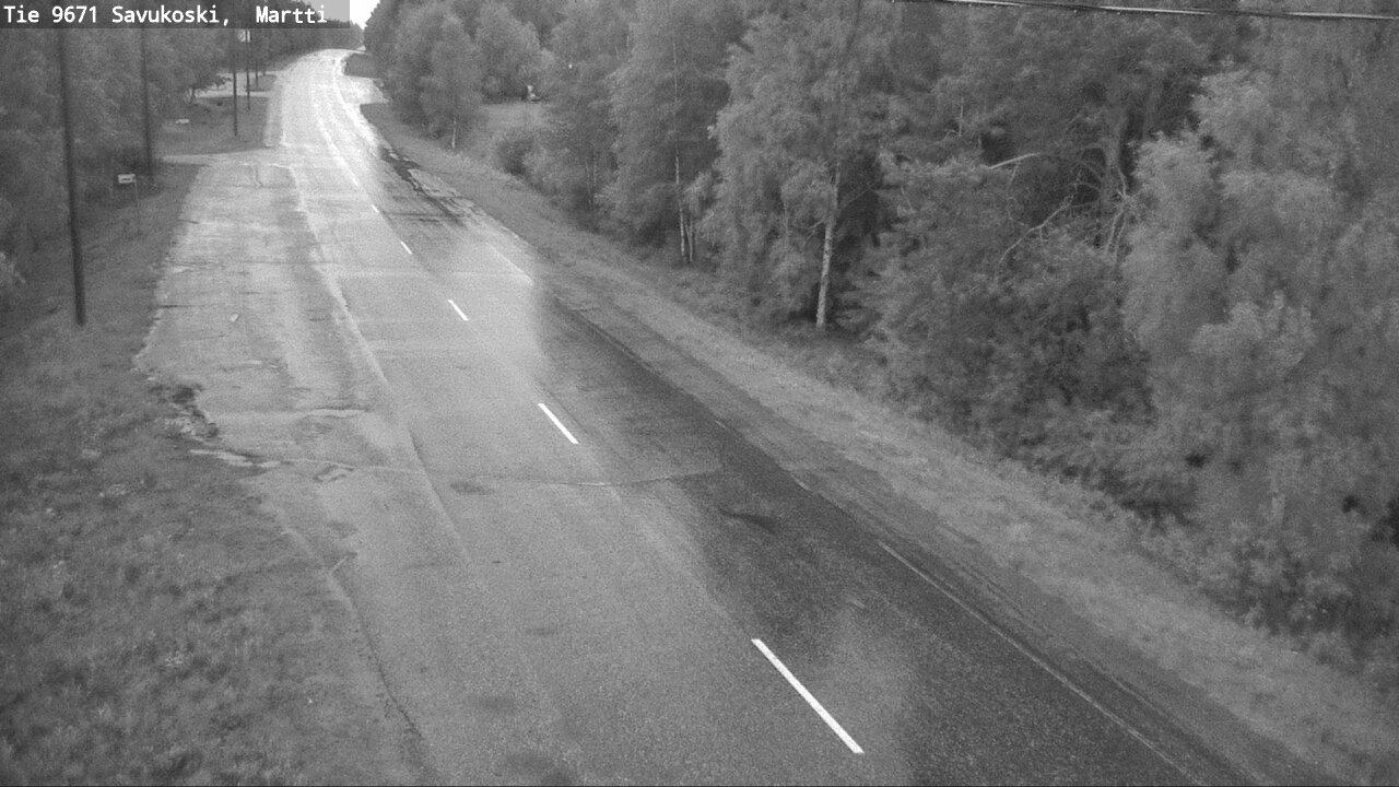 Webcam Savukoski: Tie 9671 − Martti − Savukoskelle