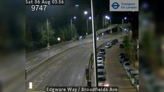 Webcam Barnet: Edgware Way − Broadfields Ave