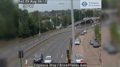 Thumbnail of Watford webcam at 7:11, Jan 15