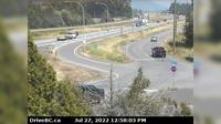Abbotsford > East: , Hwy  at Cole Road Rest Area, looking east - Overdag