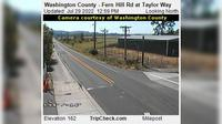 Carnation: County - Fern Hill Rd at Taylor Way - El día