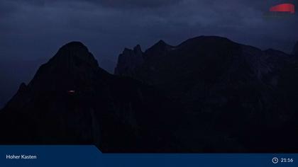 Brülisau: Hoher Kasten, Aussichtsplattform Alpstein
