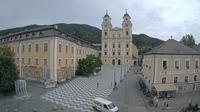 Mondsee: Wredeplatz - Basilika St. Michael - Schloss Mondsee Kultur- Und Veranstaltungszentrum GesmbH - Dia
