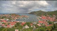 Gustavia: Webcam de St-Barth - Port de - Overdag