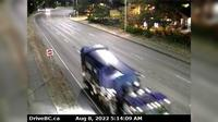 Saanich > North: , Hwy  (Patricia Bay Highway) at Ravine Way, looking north - Day time