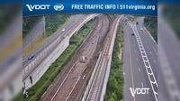 Westhampton: I- - MM . - Median - Dulles Access Road - El día