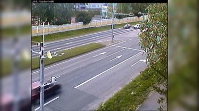Daylight webcam view from Lahti: Tie 12 − Kärpäsenmäki − Tampereelle