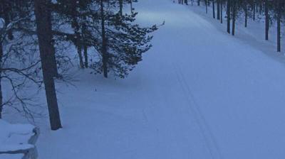Current or last view from Kaunispää: Inari, Saariselkä − Laanila