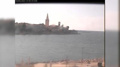 Tageslicht webcam ansicht von Poreč: Old town