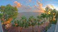 North Bay Village: Wannman Cam, Miami's Biscayne Bay - Actual