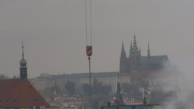 Daylight webcam view from Hradčany: Praque Praque Castle − Prag Prager Burg