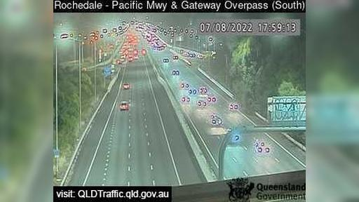 Webkamera Eight Mile Plains: Rochedale − Pacific Mwy and Gat