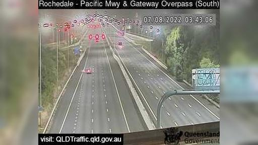 Webcam Eight Mile Plains: Rochedale − Pacific Mwy and Gat