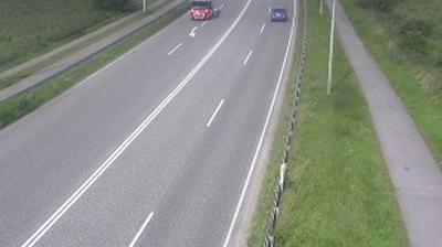 Vue webcam de jour à partir de Sønder Hadsund: Hadsund, Randersvey, Blickrichtung Nord