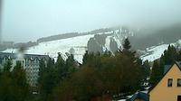 Unterwiesenthal: Oberwiesenthal - Blick ins Skigebiet - Dia