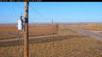 Webkamera Scenic: SD-44 2 miles west of − SD: SD DOT webcam
