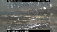 Last daylight view from Sudavik: Gautsdalur