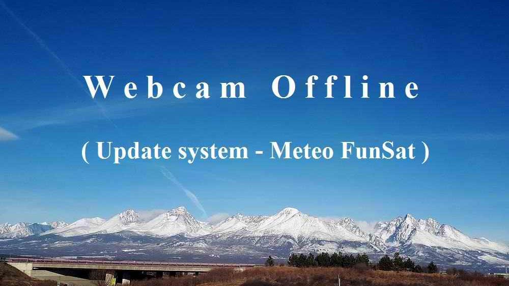 Webcam Poprad › North-West: Tatra Mountains