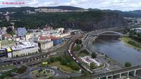 Usti nad Labem: Ústí nad Labem-centrum - Overdag