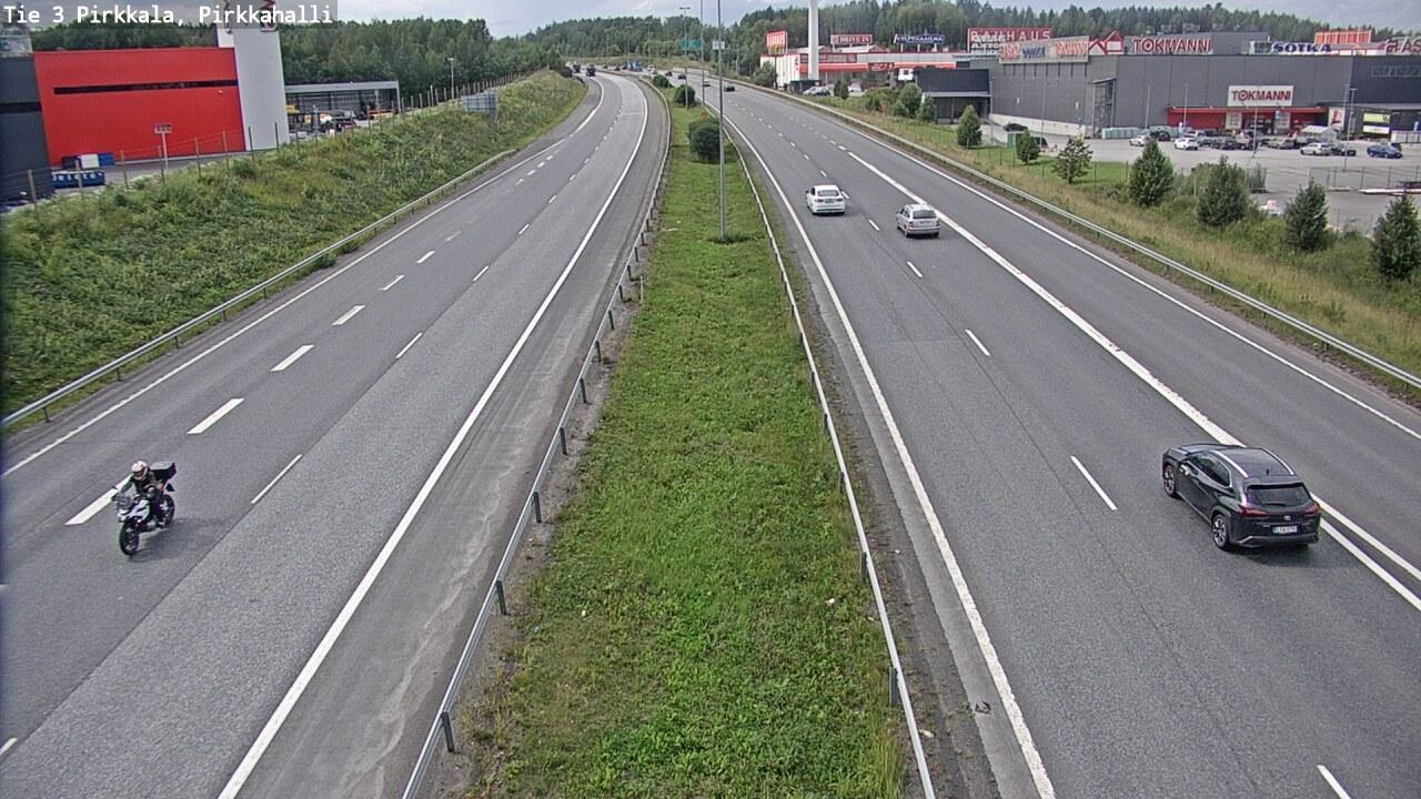 Webcam Pirkkala: Tie 3 Tampere, Pirkkahalli − Vaasaan